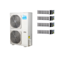 北京美的家用中央空调一级代理商MDVH-V160W/N1-5R0(E1)一拖四