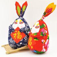 老北京兔爷儿 民间特色手工布艺礼品 中秋公仔旅游景点纪念玩偶