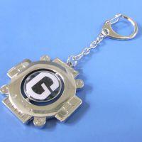 厂家定制高档商务礼品钥匙扣 创意旋转钥匙扣挂件 定做LOGO钥匙牌