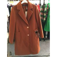 杭州呢子大衣厂家直销2018新款毛呢外套长款棉服便宜批发