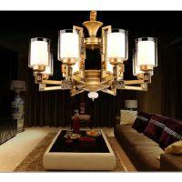 新款欧式简约客厅大气锌合金卧室餐厅吊灯灯饰