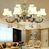 新款欧式吊灯奢华大气客厅吊灯创意别墅餐厅卧室吊灯