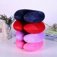 卡通毛绒U型枕 腰枕办公室靠垫 趴睡枕 创意护颈枕 十元店货源