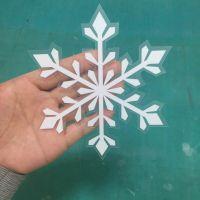 深圳厂家供应UV打印无胶可移橱窗玻璃贴高清制作