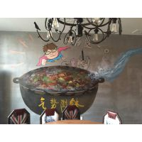 博恒艺术承接深圳餐厅墙绘【墙上画画,壁画】画3D画