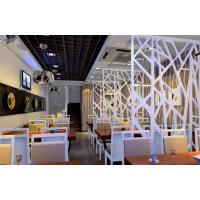 会所美容院装修常用装饰隔断雕花板镂空花板波浪板厂家专业定制