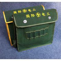 易贝箱包工具包 帆布电工包 多功能五插维修包 单肩包 木工包 免费印字 工人设备包批发