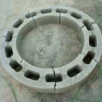 圆井模块检查井模块污水井雨水井窨井壁砌块模块加气块水泥透水砖