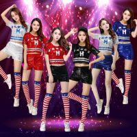 DS活力青春啦啦队服装女啦啦操校园拉拉队健美操表演足球宝贝套装