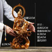 开光纯铜观音菩萨佛像摆件 供奉摆件送子保平安 佛教用品