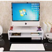 实木台式电脑办公桌面支架屏幕垫高架实木增高托架加高底座显示器