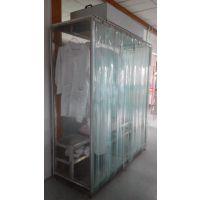 无尘衣柜专用于空气净化行业洁净室、无尘室、实验室、手术室、GMP厂房