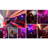 上海租改装巴士 改装巴士巡游租赁 画面张贴改内饰租广告大巴
