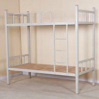 批发定做铁架上下床 定做学生宿舍双层床 高低床上下铺公寓铁床