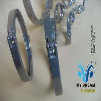供应流体管道卡箍,食品、制药、生物工程管道通用不锈钢卡箍