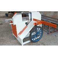 圆木断料锯圆木裁断锯效率高价格实惠厂家力马木工机械