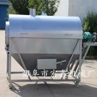 电动滚筒炒货机 不锈钢电加热炒货机 干果干货炒料机