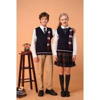 汕头国际双语贵族学校私立英伦学院英式校服礼服专业定做汕头小学生校服工厂