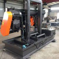 济南宁瑞机械专供双立柱卧式半自动带锯床GZ-4265高精度锯切质优价廉锯切各种钢材