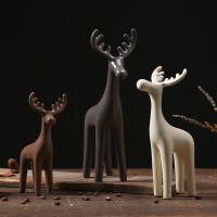 JFJS创意北欧家居动物摆件装饰品室内客厅房间卧室床头柜书桌桌面
