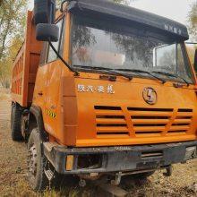 出售13年陕汽奥龙后八轮二手工程车,310马力,5.6米大箱,山西忻州看车