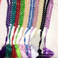 工厂直销阿拉伯伊斯兰诵经珠链穆斯林回族回民礼拜祭祀项手链念珠