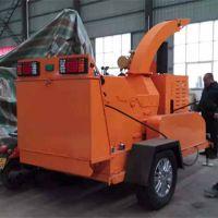 广州大型移动木材粉碎机 粗干树枝粉碎机 柴油机带动卓辉直销