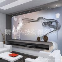 8D大型壁画工程无纺布纸现代定制客厅卧室电视背景墙厂家壁纸墙纸