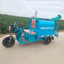 厂家直销电动三轮洒水车 车载除尘雾炮洒水车 园林绿化环卫工地清洗车