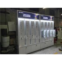 滁州 德国博世ID60指纹锁展示柜 电子锁密码锁挂墙柜