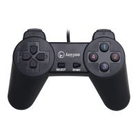 蓝觉L-300 小手柄 电脑游戏手柄 USB手柄配件批发