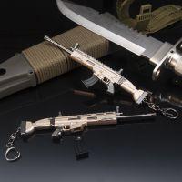 堡垒之夜FORTNITE周边 SCAR步枪钥匙扣 玩具模型 合金武器