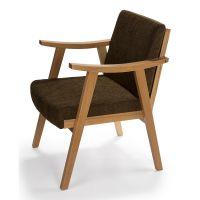 悦方北欧单人沙发椅美式老虎椅靠背皮艺设计师休闲椅客厅阳台现代简约
