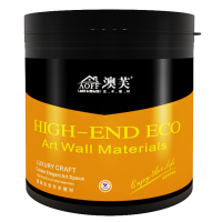 专业艺术涂料厂家加盟佛山壁纸漆三色效果室内装饰墙面漆澳芙漆