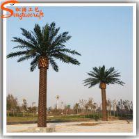 仿真海藻树 仿真棕榈树装饰厂家批发 仿真椰子树装修工程项目合作