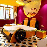 多功能合欢震动床电动情趣圆形水床主题汽车床情趣家具夫妻电动床