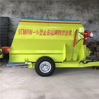 大型拖拉机动力牵引撒料搅拌机/TMR混料机固定位置不限地方
