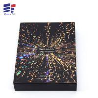 高档护肤品包装盒 黑卡纸盒 面膜包装盒定做彩盒厂家定制