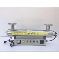 200W空调水杀菌消毒专用设备优诚管道式紫外线消毒器