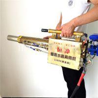 汽油电启动脉冲动力果林树木打药机 双管水冷弥雾机 蔬菜烟雾机