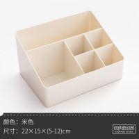 宿舍化妆品收纳盒塑料小号迷你遥控器桌面收纳盒办公桌韩式简约