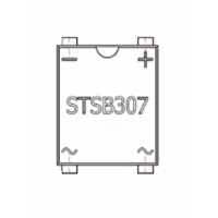 佳讯电子 贴片 桥堆 DB307S MSBL 封装 3A1000V 超薄桥堆 平脚
