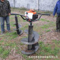 定做各种直径挖坑机 便携式汽油植树挖孔机 大马力钻眼机