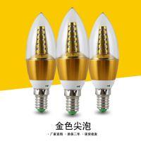 厂家直销黄光白光 led蜡烛灯泡e14小螺口5W7W9W12w节能拉尾灯泡
