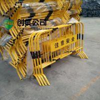 带板铁马 建筑护栏 安全铁马 安全围栏 防护栏隔离栏 自产自销