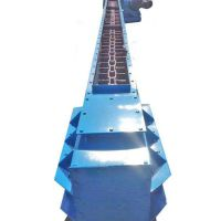 防尘型刮板输送机 六九加工定做淤泥灰渣刮板输送机 质优价廉