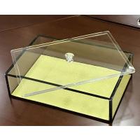 深圳亚克力展示箱制作厂家 亚克力有机玻璃展示箱定做加工