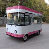 常年供应各种多功能电动四轮美食餐车小吃车办公用品车售货车展示车服装车