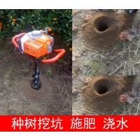 推拉机带挖坑机 可定做1.2米挖坑机 地砖机参数