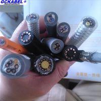 柔性拖链电缆HFC-YY101 高速柔性无屏蔽拖链 HFC-YY111 PUR高速柔性拖链电缆